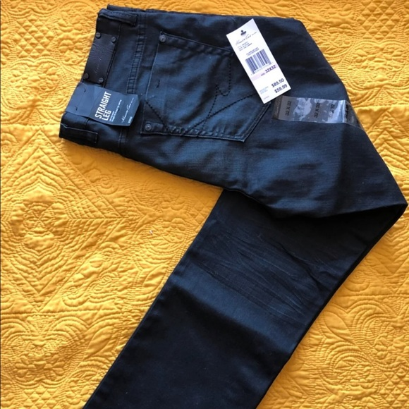 Kenneth Cole Other - Kenneth Cole Mens Straight Leg Black Jeans 32/32